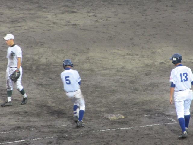 北信越高校野球石川県大会  航空vs泉丘 255