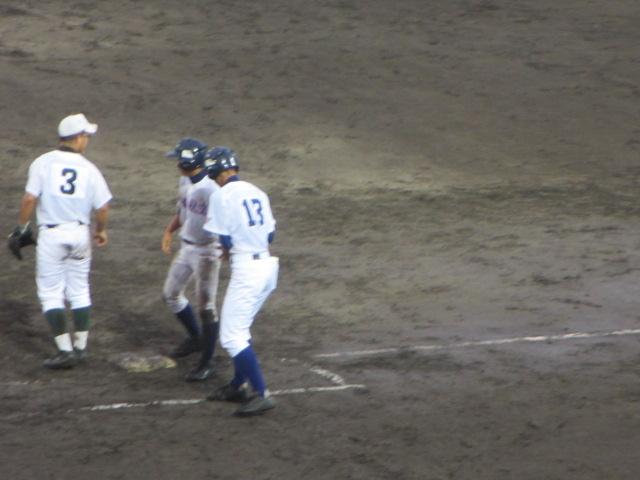 北信越高校野球石川県大会  航空vs泉丘 256