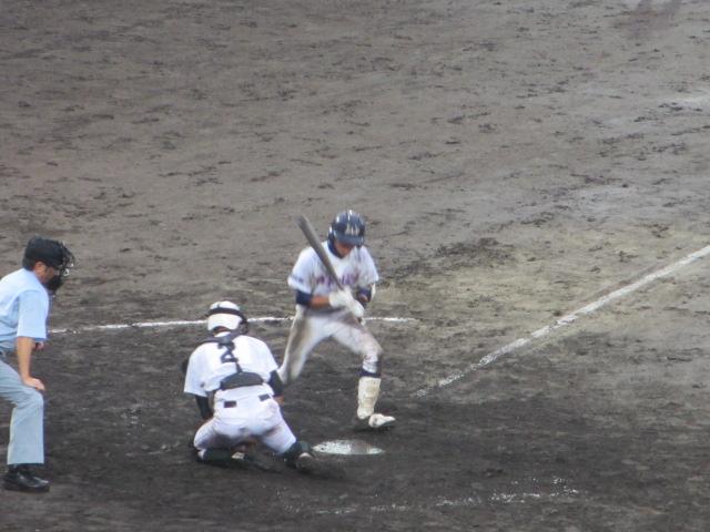 北信越高校野球石川県大会  航空vs泉丘 254