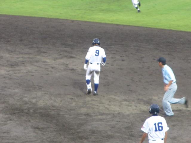 北信越高校野球石川県大会  航空vs泉丘 263