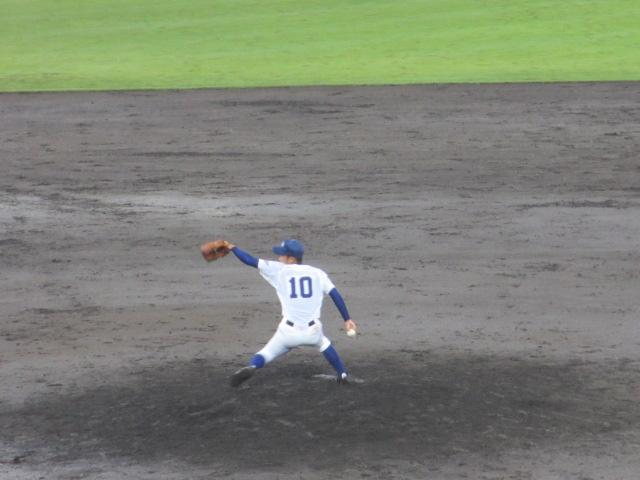北信越高校野球石川県大会  航空vs泉丘 270