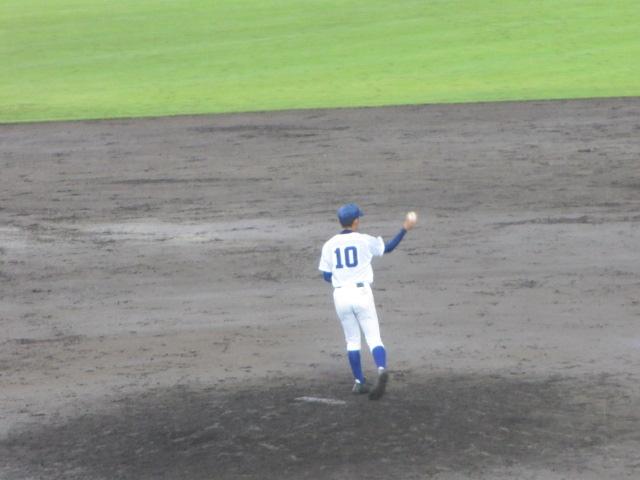 北信越高校野球石川県大会  航空vs泉丘 269