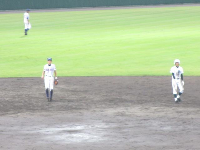 北信越高校野球石川県大会  航空vs泉丘 268