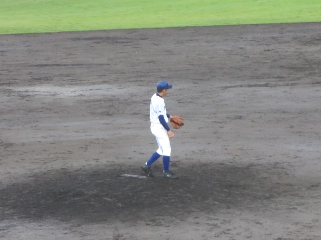 北信越高校野球石川県大会  航空vs泉丘 267