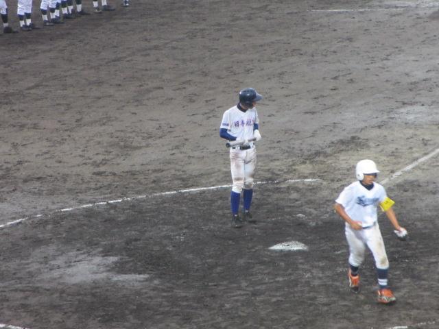 北信越高校野球石川県大会  航空vs泉丘 277