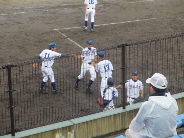 北信越高校野球石川県大会  航空vs泉丘 275