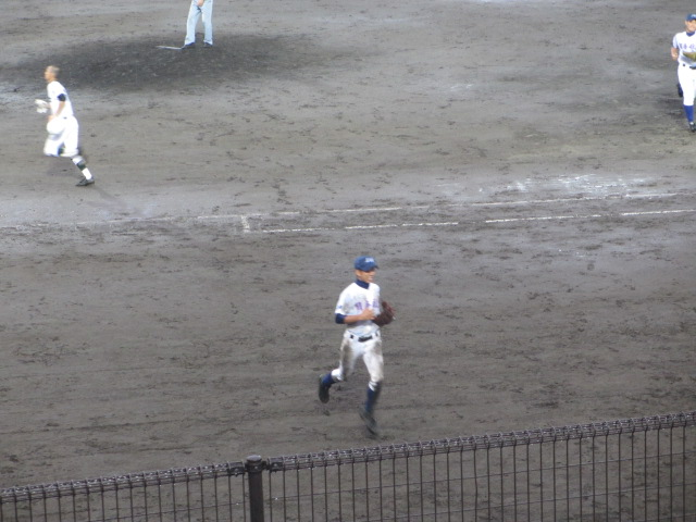 北信越高校野球石川県大会  航空vs泉丘 274