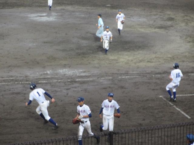 北信越高校野球石川県大会  航空vs泉丘 273