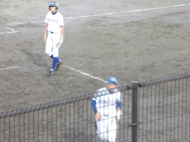 北信越高校野球石川県大会  航空vs泉丘 282