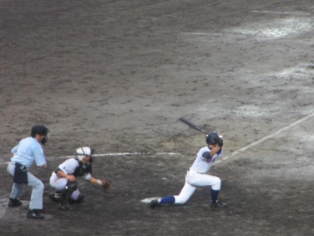 北信越高校野球石川県大会  航空vs泉丘 285
