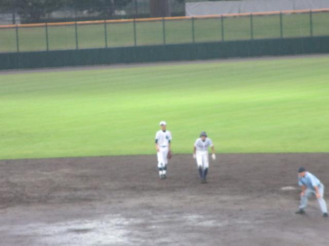 北信越高校野球石川県大会  航空vs泉丘 284