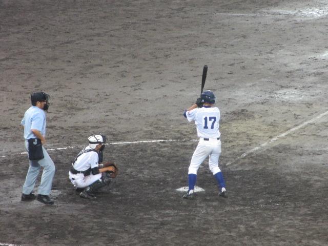 北信越高校野球石川県大会  航空vs泉丘 283