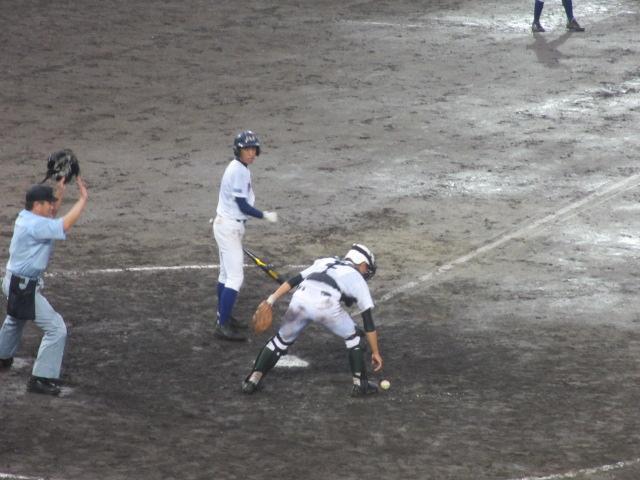 北信越高校野球石川県大会  航空vs泉丘 294