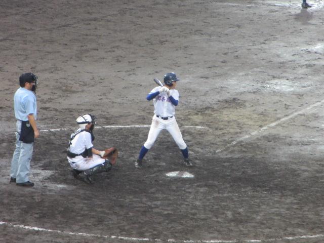北信越高校野球石川県大会  航空vs泉丘 293