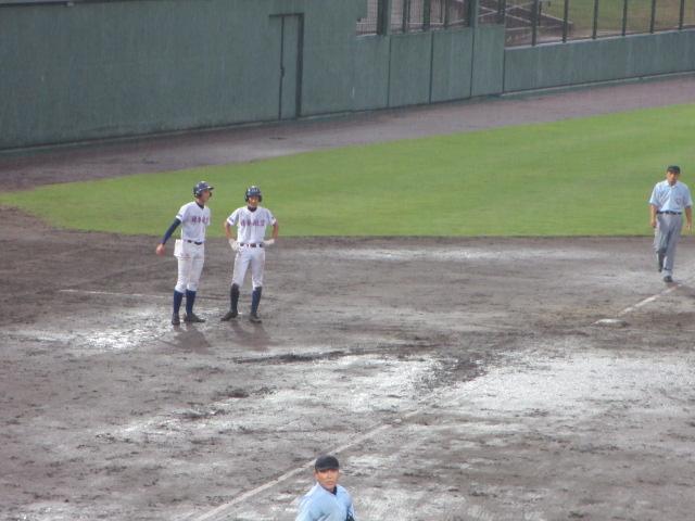 北信越高校野球石川県大会  航空vs泉丘 290
