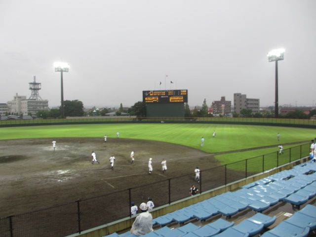 北信越高校野球石川県大会  航空vs泉丘 299