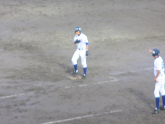 北信越高校野球石川県大会  航空vs泉丘 296