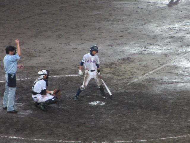 北信越高校野球石川県大会  航空vs泉丘 306