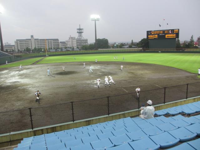 北信越高校野球石川県大会  航空vs泉丘 304