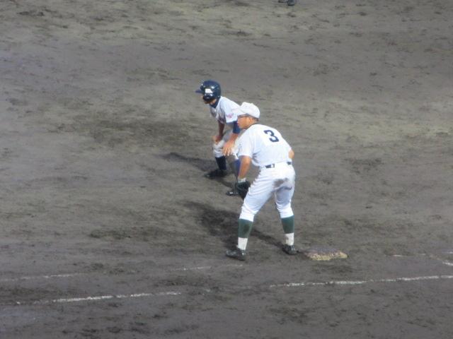 北信越高校野球石川県大会  航空vs泉丘 311