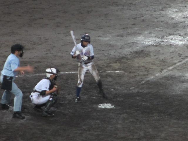 北信越高校野球石川県大会  航空vs泉丘 310