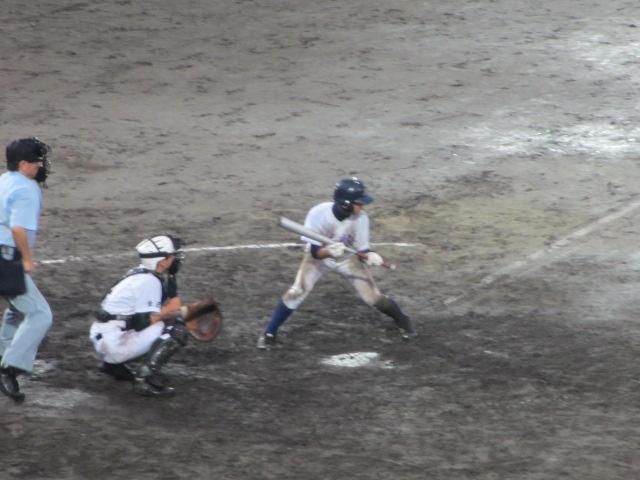 北信越高校野球石川県大会  航空vs泉丘 307