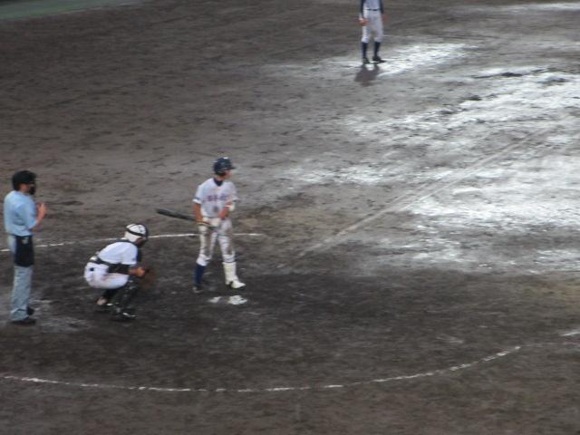北信越高校野球石川県大会  航空vs泉丘 317