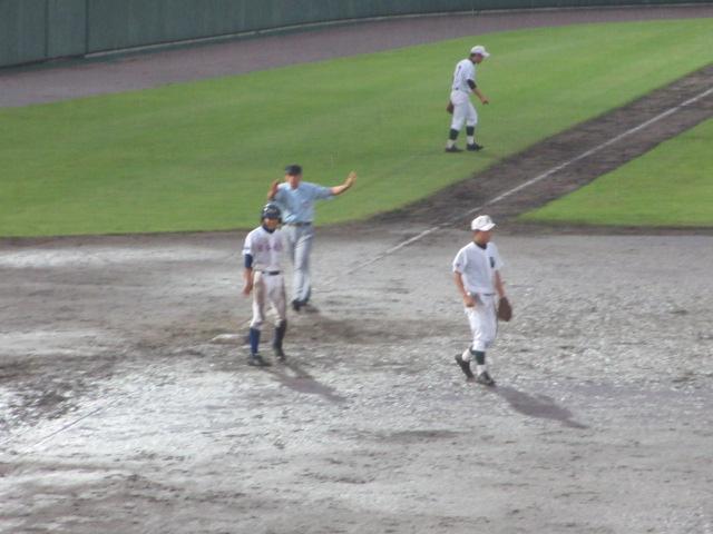 北信越高校野球石川県大会  航空vs泉丘 315