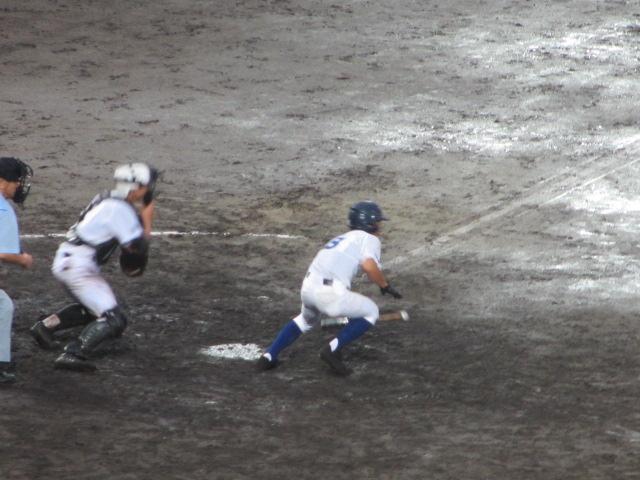 北信越高校野球石川県大会  航空vs泉丘 314