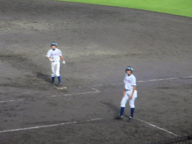 北信越高校野球石川県大会  航空vs泉丘 323