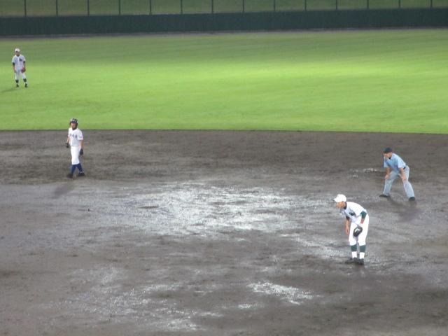 北信越高校野球石川県大会  航空vs泉丘 322