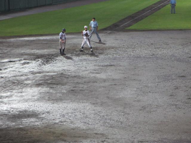 北信越高校野球石川県大会  航空vs泉丘 321