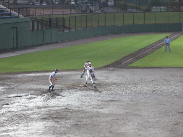 北信越高校野球石川県大会  航空vs泉丘 318