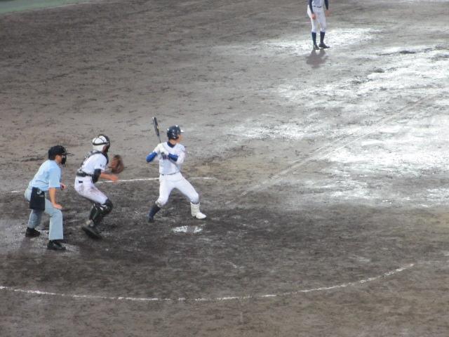 北信越高校野球石川県大会  航空vs泉丘 325