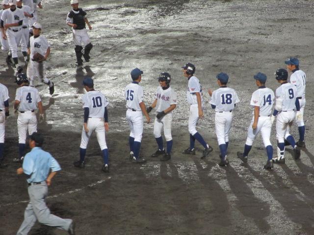 北信越高校野球石川県大会  航空vs泉丘 330