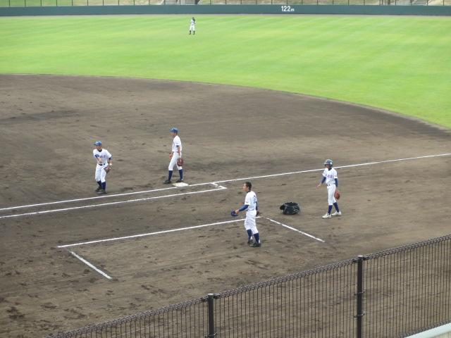 北信越高校野球石川県大会 三回戦 航空vs市工 004
