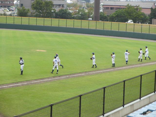 北信越高校野球石川県大会 三回戦 航空vs市工 001