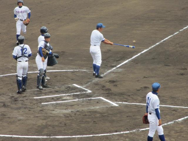 北信越高校野球石川県大会 三回戦 航空vs市工 011