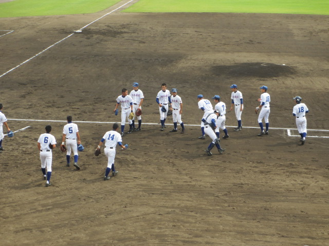 北信越高校野球石川県大会 三回戦 航空vs市工 017