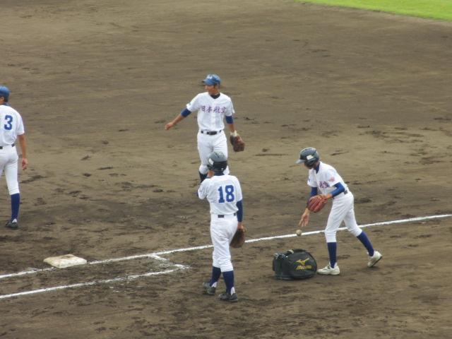 北信越高校野球石川県大会 三回戦 航空vs市工 016