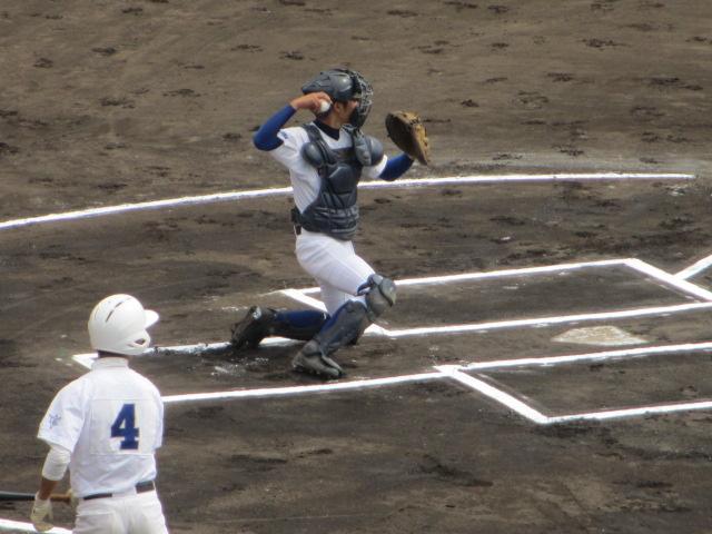 北信越高校野球石川県大会 三回戦 航空vs市工 029