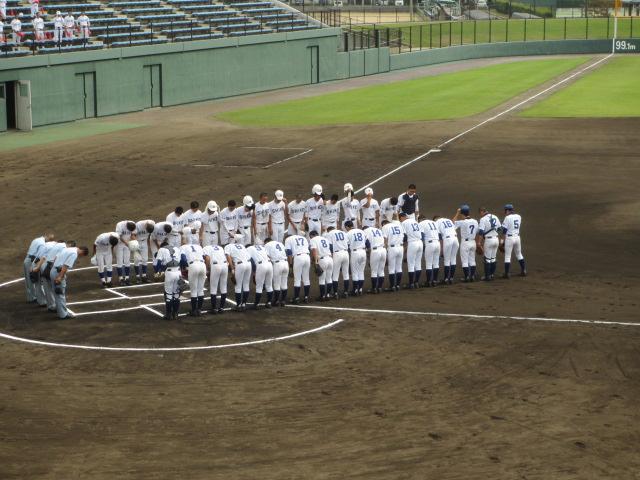北信越高校野球石川県大会 三回戦 航空vs市工 027