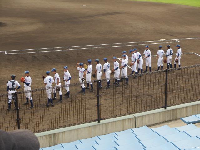 北信越高校野球石川県大会 三回戦 航空vs市工 026