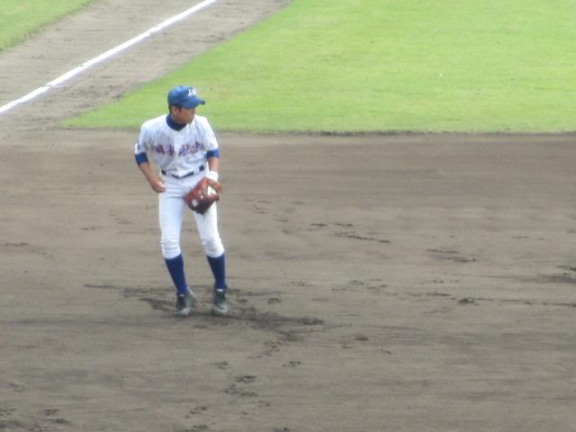 北信越高校野球石川県大会 三回戦 航空vs市工 042
