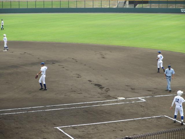 北信越高校野球石川県大会 三回戦 航空vs市工 040