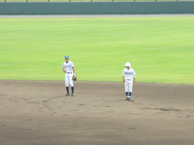 北信越高校野球石川県大会 三回戦 航空vs市工 041