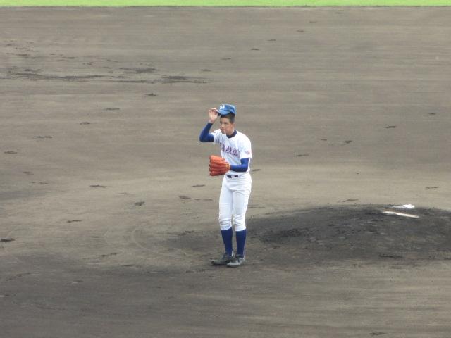 北信越高校野球石川県大会 三回戦 航空vs市工 037