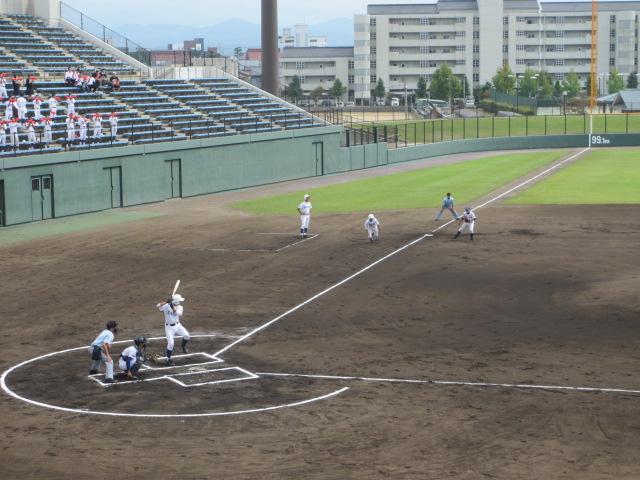 北信越高校野球石川県大会 三回戦 航空vs市工 047