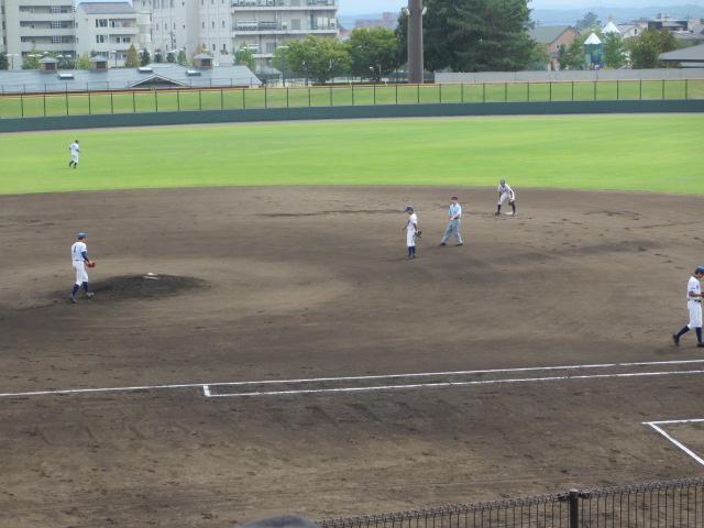 北信越高校野球石川県大会 三回戦 航空vs市工 046