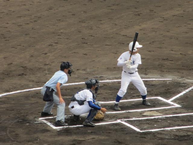 北信越高校野球石川県大会 三回戦 航空vs市工 043